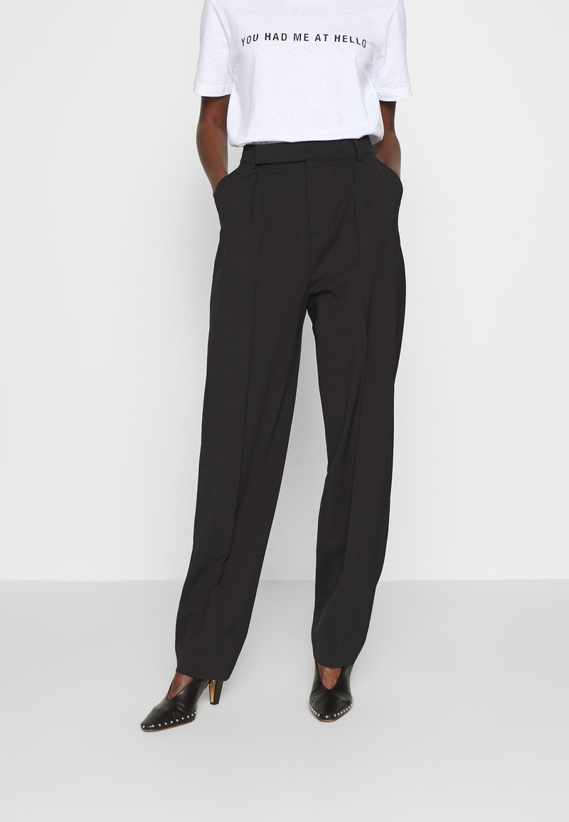 Filippa K - JULIE TROUSER - Pantaloni - black