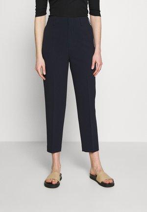 KARLIE TROUSER - Pantalones - navy