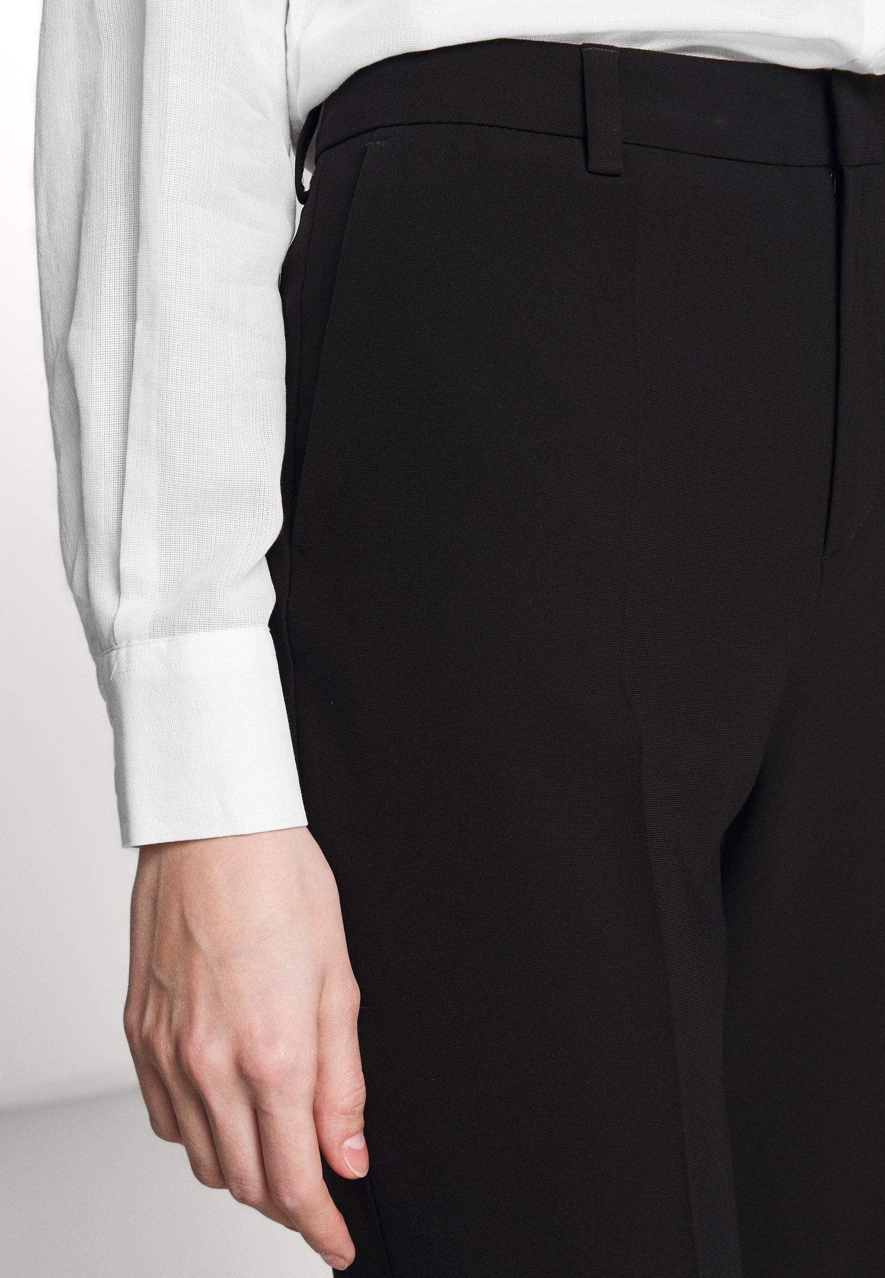 Filippa K REGINA TROUSER - Spodnie materiałowe - black