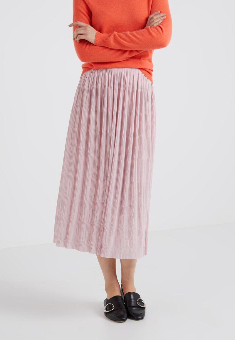 Filippa K - WAVE SKIRT - Pleated skirt - frosty pin