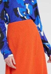Filippa K - SKIRT - A-line skirt - tangerine - 4