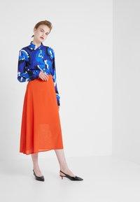 Filippa K - SKIRT - A-line skirt - tangerine - 1