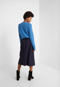 Filippa K - JULIET SKIRT - A-line skirt - deep blue - 2