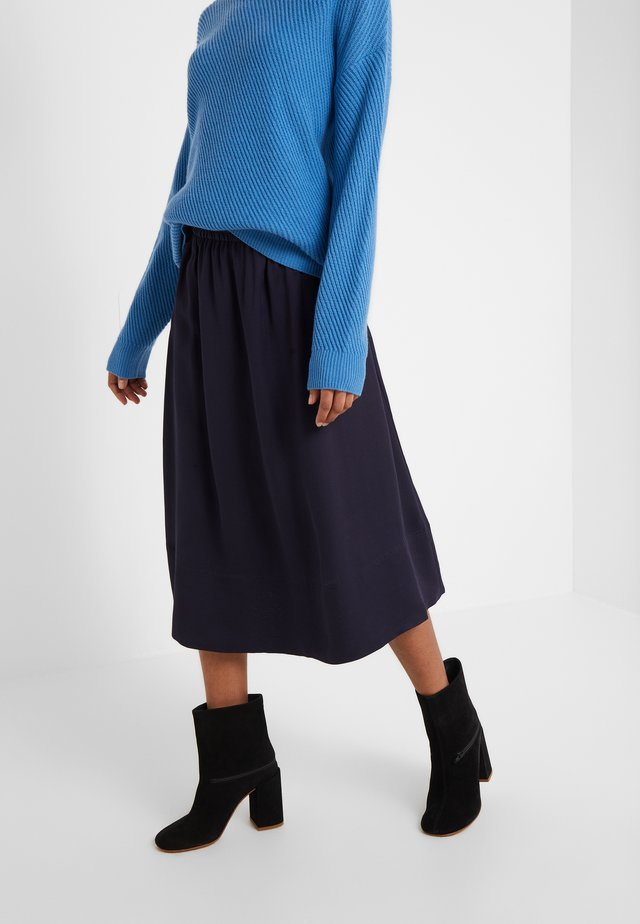 JULIET SKIRT - A-line skirt - deep blue