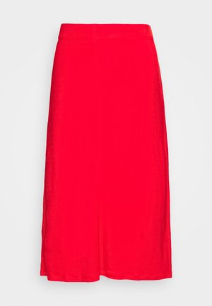 MARGARET SKIRT - Pencil skirt - red orange