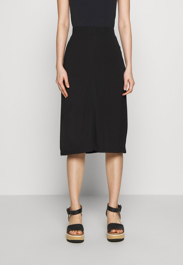 MARGARET SKIRT - Pencil skirt - black