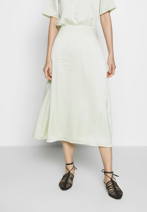 ANGELA SKIRT - Falda acampanada - pale lime