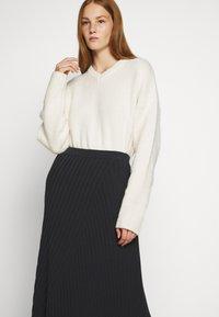 Filippa K - SKIRT - A-line skirt - ink blue - 3
