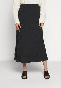 Filippa K - SKIRT - A-line skirt - ink blue - 0