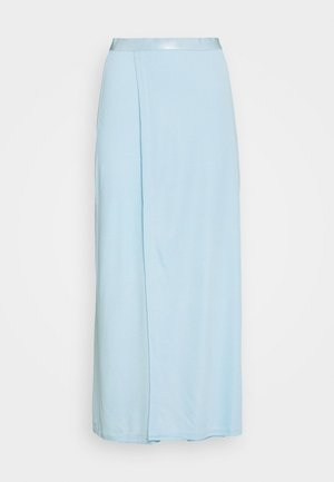 VIOLA SKIRT - Jupe longue - pale blue