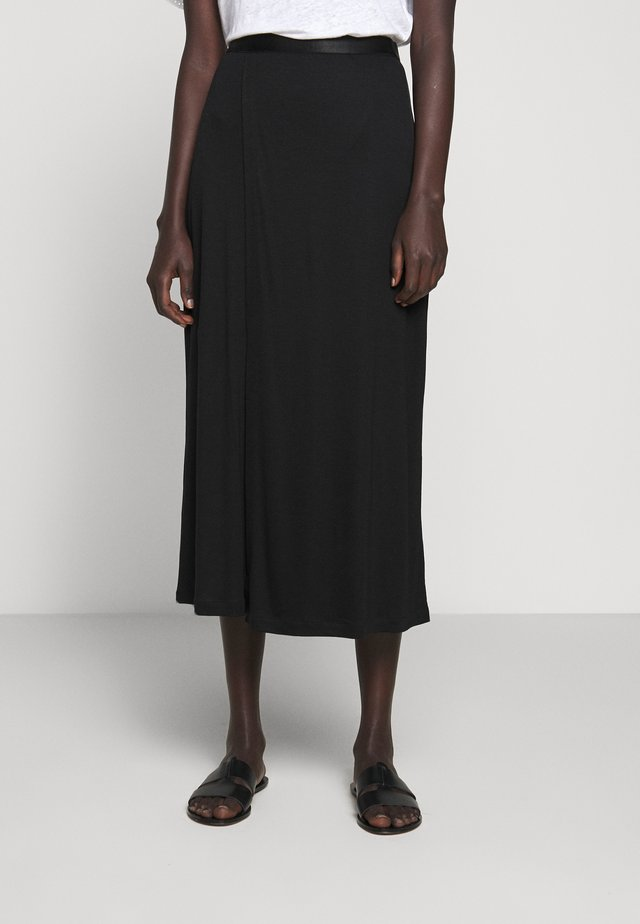 VIOLA SKIRT - Maxi sukně - black