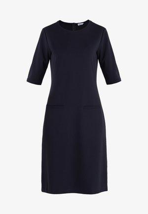 FRONT POCKET SHIFT DRESS - Žerzejové šaty - navy