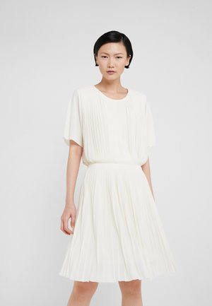 PLEATED DRESS - Vestito elegante - off-white