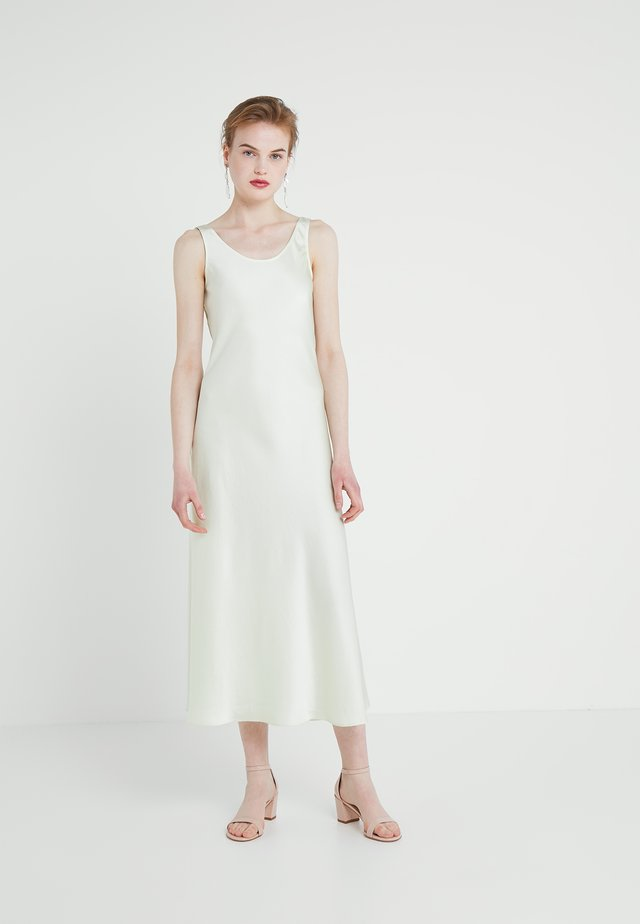 LONG SLIP DRESS - Vardagsklänning - pale lime