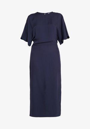 KIMONO SLEEVE DRESS - Vestito lungo - moody blue