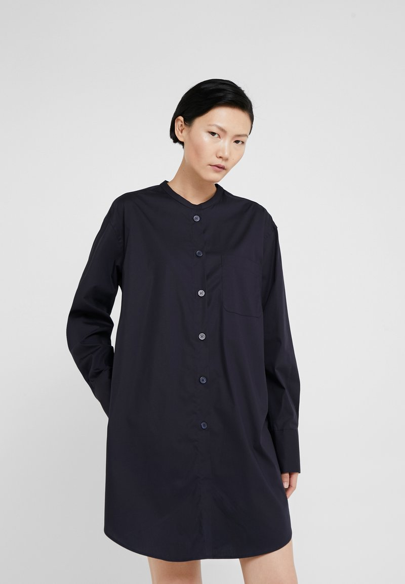 Filippa K - SHIRT DRESS - Blusenkleid - navy