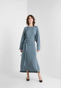 Filippa K - LEIA DRESS - Maxi dress - blue grey - 1
