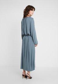 Filippa K - LEIA DRESS - Maxi dress - blue grey - 2