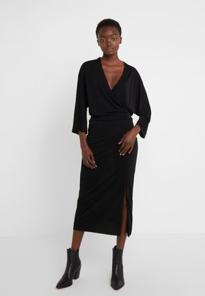 RENE DRESS - Jerseykjoler - black