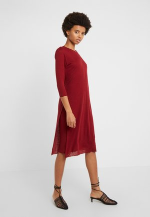 Jumper dress - pure red