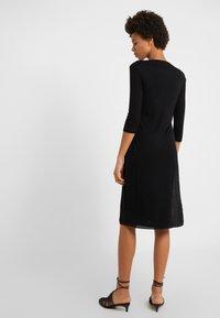 Filippa K - Pletené šaty - black - 2