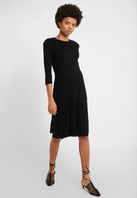 Filippa K - Pletené šaty - black - 0