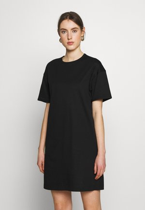 MADDIE DRESS - Žerzejové šaty - black