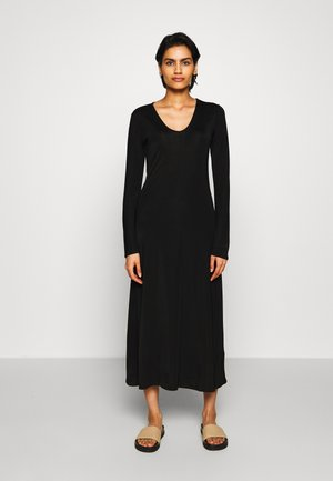 ROSALINE DRESS - Maxi šaty - black