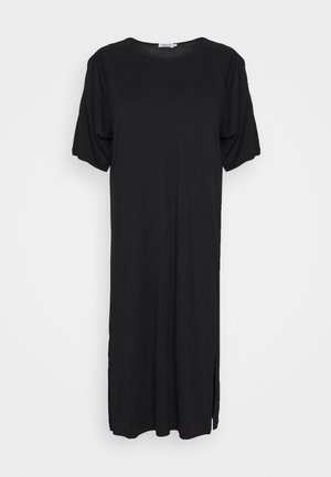 MIRA DRESS - Jerseykjole - black