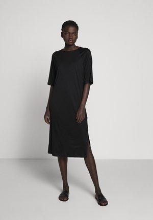 MIRA DRESS - Jerseyjurk - black
