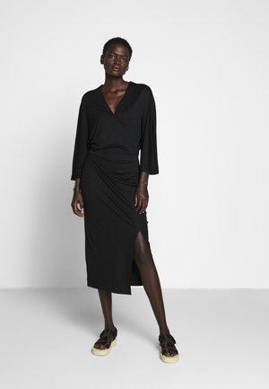 IRENE DRESS - Jerseykjole - black