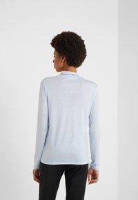 Filippa K - POLO NECK TOP - T-shirt à manches longues - atlantic - 2