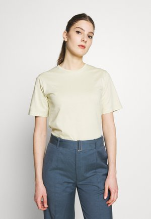 CREW NECK TEE - T-shirt basic - faded yellow