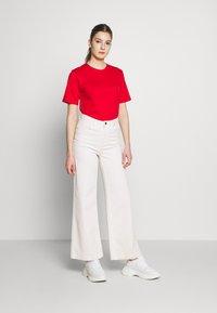 Filippa K - CREW NECK TEE - T-shirt basic - red orange - 1