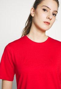 Filippa K - CREW NECK TEE - T-shirt basic - red orange - 3