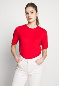 Filippa K - CREW NECK TEE - T-shirt basic - red orange - 0