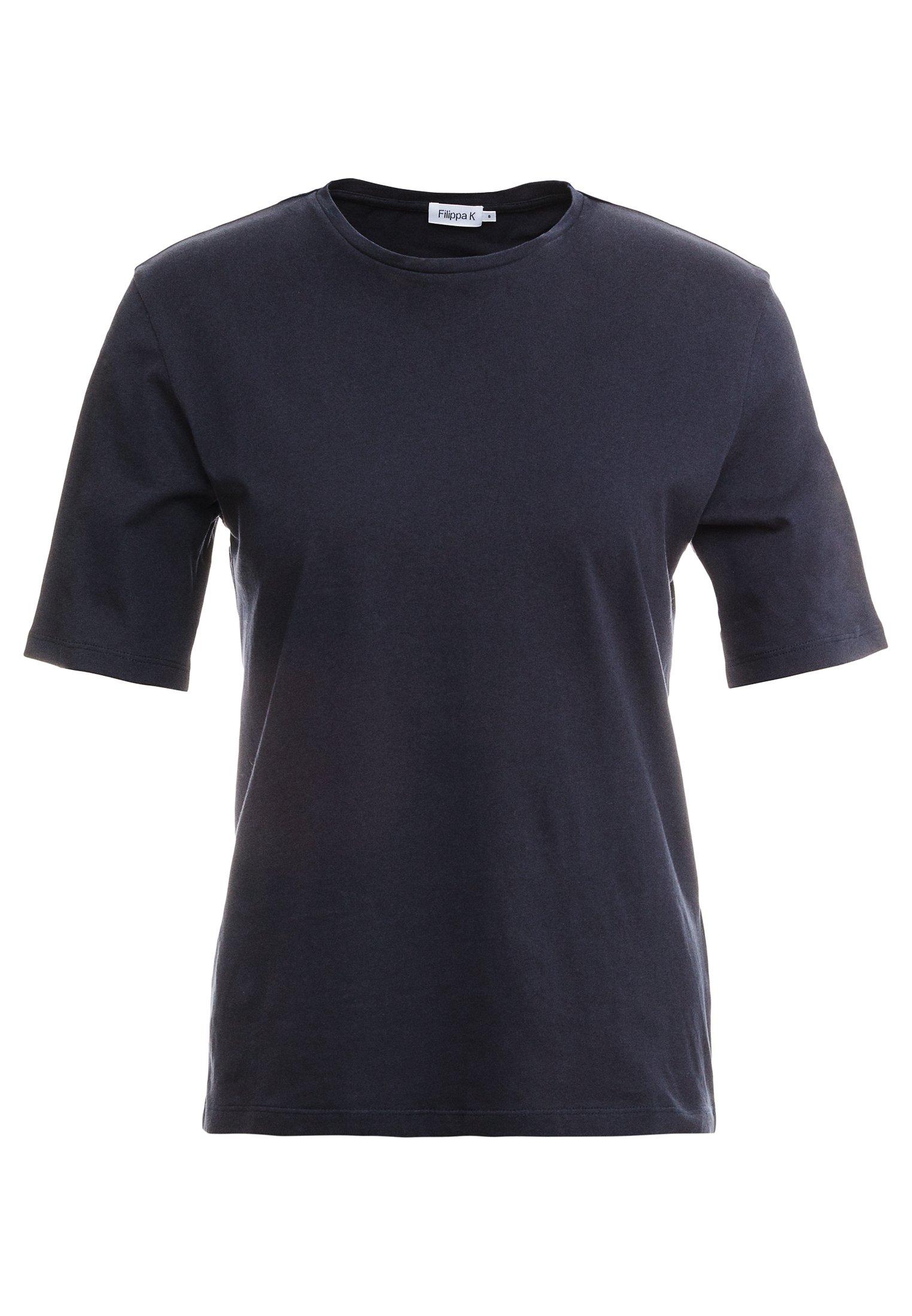 Filippa K CREW NECK TEE - T-shirt basic - navy 89QkuUQC