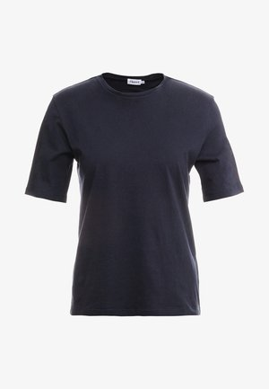 CREW NECK TEE - T-shirts - navy