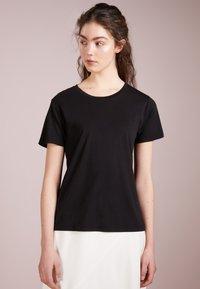 Filippa K - CREW NECK TEE - T-shirt basic - black - 0
