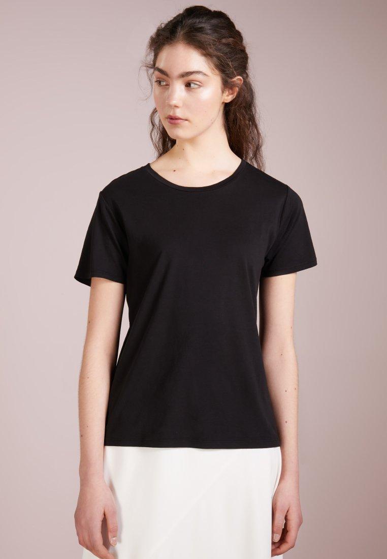 Filippa K - CREW NECK TEE - T-shirt basic - black