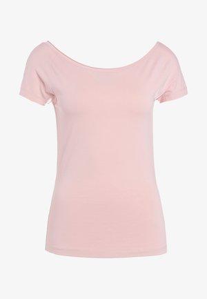 BALLERINA STYLE CAP SLEEVE - Camiseta básica - petal