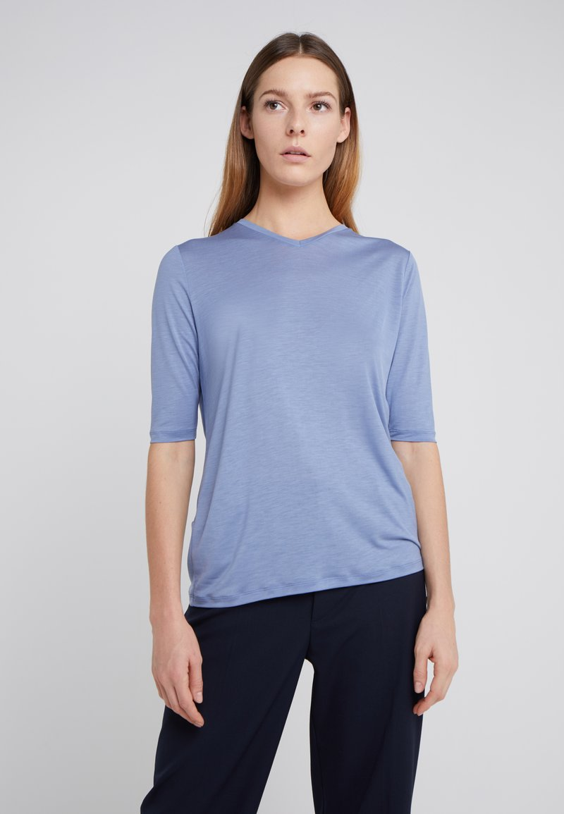 Filippa K - HIGH TOP - T-shirt basic - paris blue
