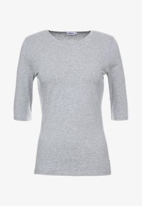 Filippa K - STRETCH ELBOW SLEEVE - T-shirts - grey melange - 3