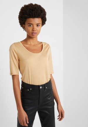 ELBOW SLEEVE - T-shirt basic - toffe beige