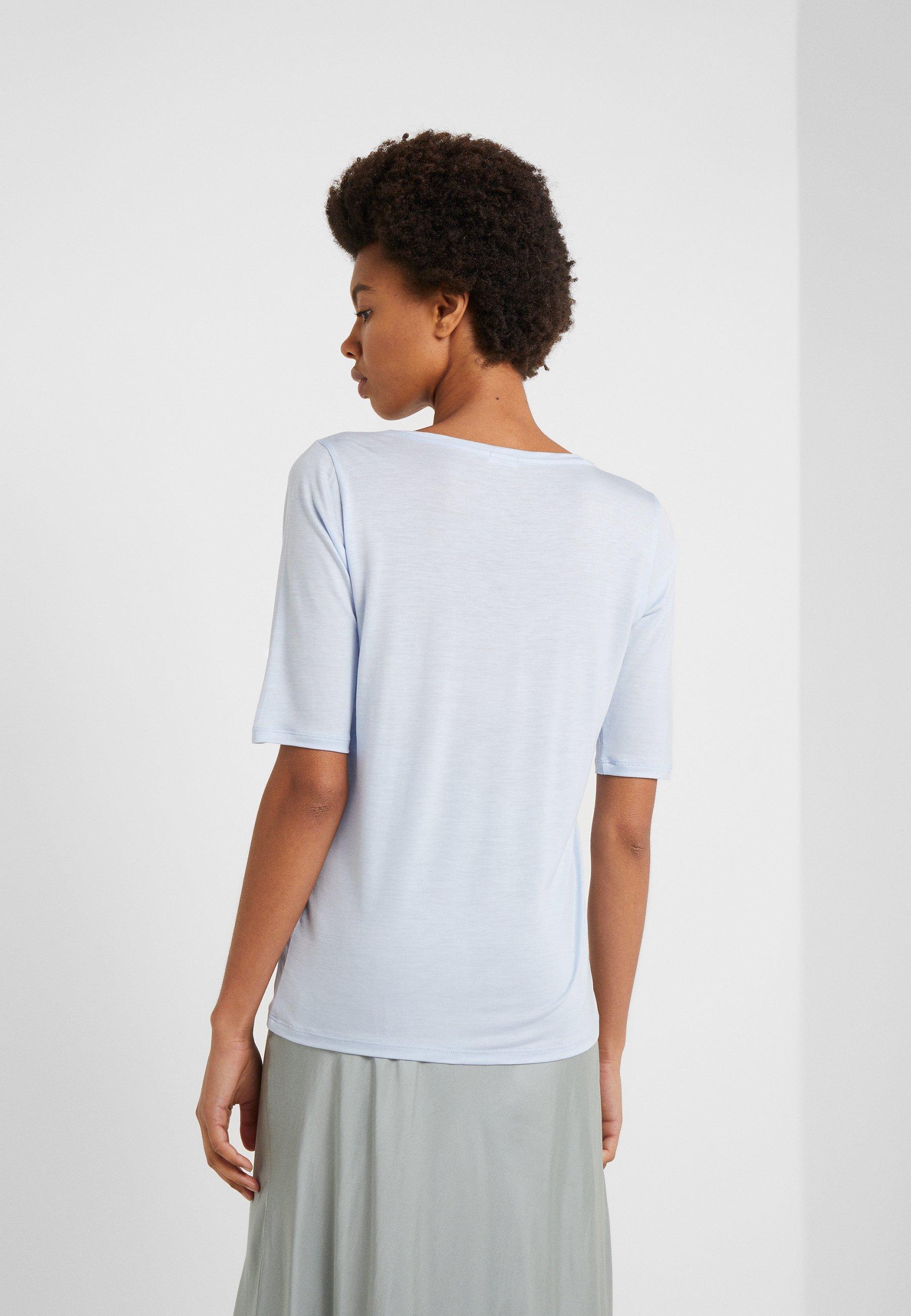 Filippa K ELBOW SLEEVE - T-shirts - atlantic