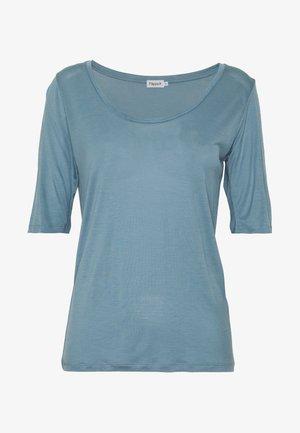 ELBOW SLEEVE - Basic T-shirt - blue heave