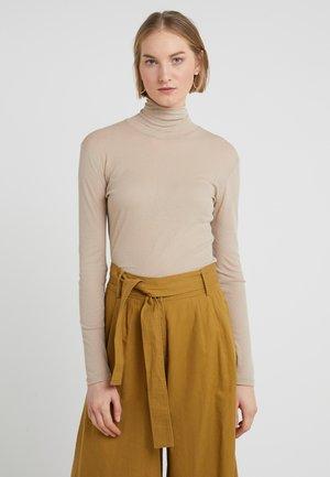 Bluzka z długim rękawem - light taupe