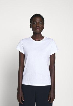 FLARED CAP SLEEVE - T-shirt basic - white