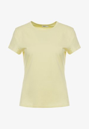 FLARED CAP SLEEVE - Basic T-shirt - wax