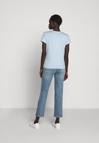 Filippa K - FLARED CAP SLEEVE - T-shirt basic - pale blue - 2